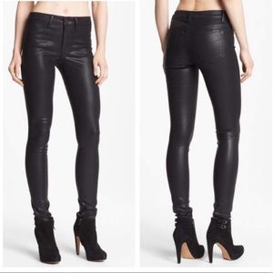 Joe's Jeans Icon Skinny Ankle Coated Mid Rise 27